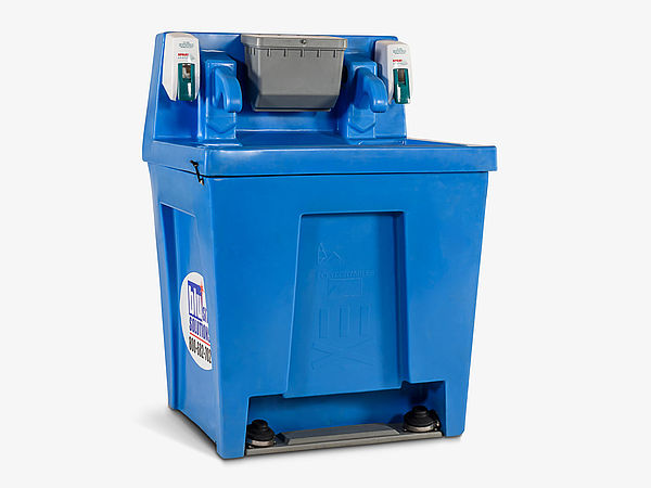 Hand Wash Super Twin Sink - Exterior
